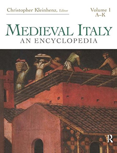9780415939294: Medieval Italy: An Encyclopedia (Routledge Encyclopedias of the Middle Ages)
