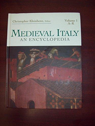 9780415939300: Medieval Italy: An Encyclopedia