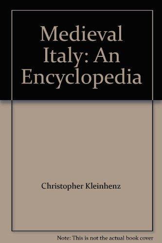 9780415939317: Medieval Italy: An Encyclopedia