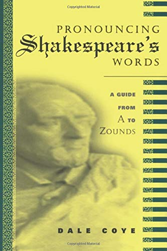 9780415941822: Pronouncing Shakespeare's Words