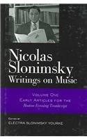 Nicolas Slonimsky: Writings on Music (Volume) (0415942209) by Nicolas Slonimsky