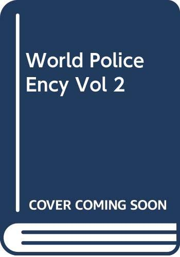 9780415942522: World Police Ency Vol 2