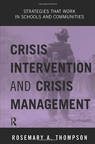 9780415944946: Crisis Intervention and Crisis Management: Strategies that Work in Schools and Communities