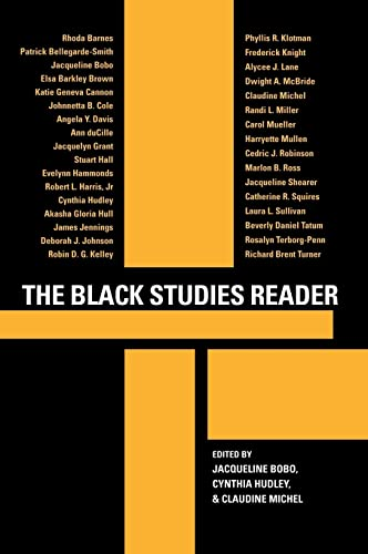 The Black Studies Reader: Rhoda Barnes; Patrick