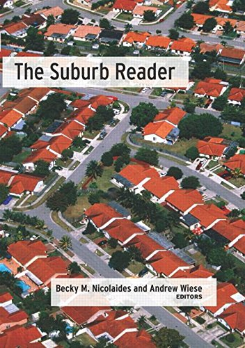 9780415945936: The Suburb Reader