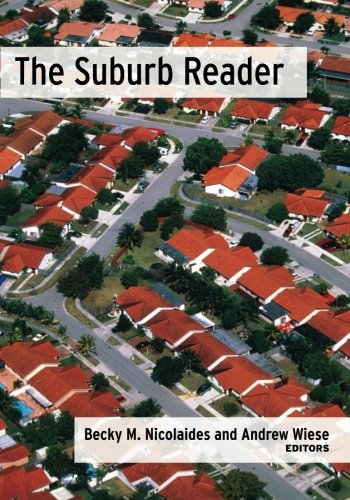 9780415945943: The Suburb Reader