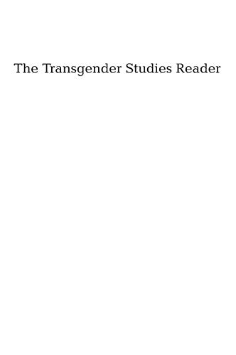 9780415947084: The Transgender Reader