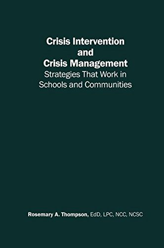 9780415948180: Crisis Intervention and Crisis Management: Strategies that Work in Schools and Communities