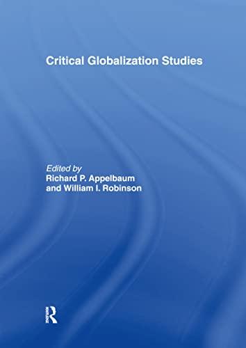 9780415949613: Critical Globalization Studies