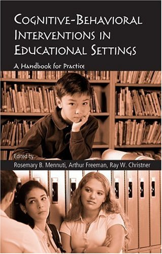 9780415950398: Cognitive-Behavioral Interventions in Educational Settings: A Handbook for Practice