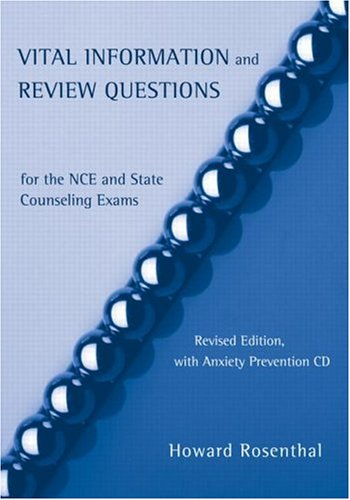 9780415950688: Encyclopedia of Counseling Package: Vital Information and Review Questions for the NCE Study Set