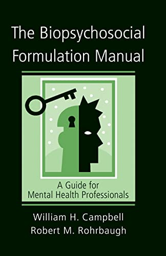 9780415951425: The Biopsychosocial Formulation Manual: A Guide for Mental Health Professionals