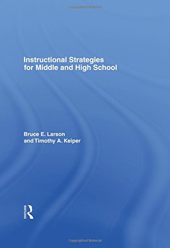 9780415953085: Instructional Strategies for Middle and High School