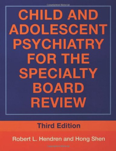 9780415955980: Child and Adolescent Psychiatry for the Specialty Board Review (BRUNNER/MAZEL CONTINUING EDUCATION IN PSYCHIATRY SERIES)