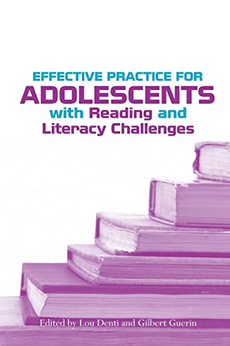 9780415957373: Effective Practice for Adolescents with Reading and Literacy Challenges
