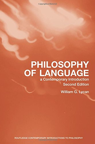 9780415957526: Philosophy of Language: A Contemporary Introduction (Routledge Contemporary Introductions to Philosophy)