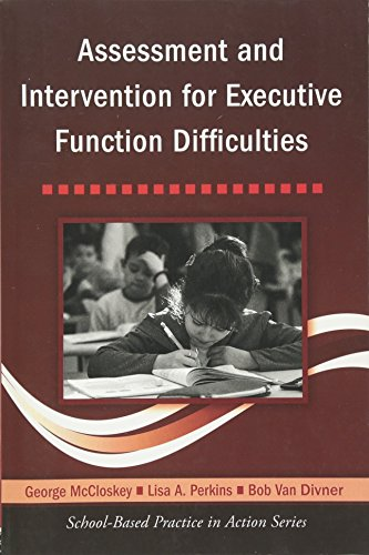 9780415957847: Assessment and Intervention for Executive Function Difficulties (School-Based Practice in Action)