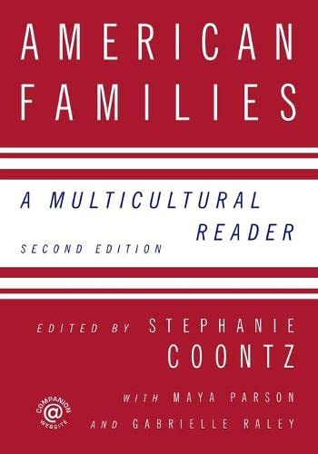9780415958219: American Families: A Multicultural Reader