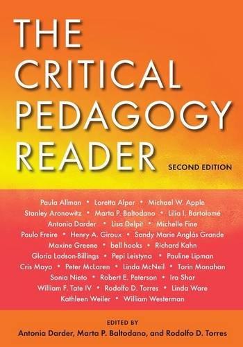 9780415961202: The Critical Pedagogy Reader: Second Edition