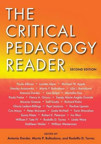 9780415961202: The Critical Pedagogy Reader: Second Edition