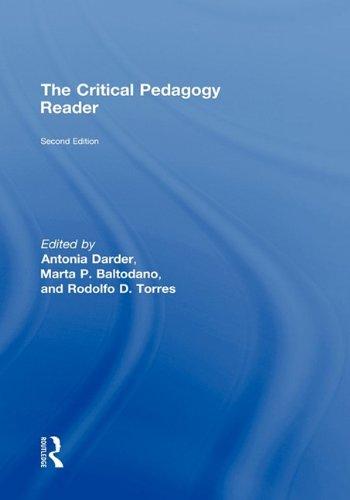 9780415961219: The Critical Pedagogy Reader: Second Edition