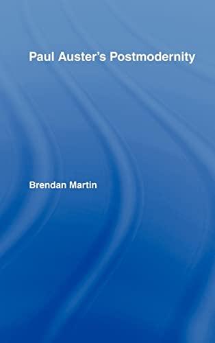 9780415962032: Paul Auster's Postmodernity (Studies in Major Literary Authors)