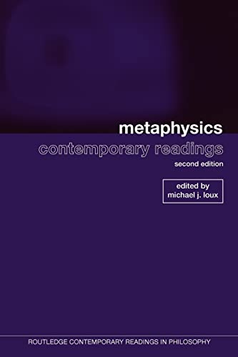 9780415962384: Metaphysics: Contemporary Readings: 2nd Edition (Routledge Contemporary Readings in Philosophy)