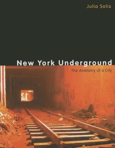 9780415963107: New York Underground: The Anatomy of a City