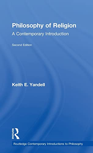 9780415963695: Philosophy of Religion: A Contemporary Introduction (Routledge Contemporary Introductions to Philosophy)