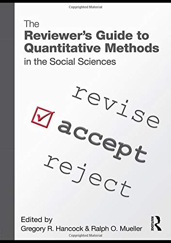 9780415965088: The Reviewer's Guide to Quantitative Methods in the Social Sciences