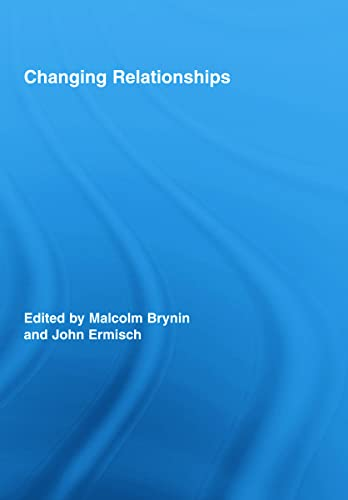 9780415965231: Changing Relationships