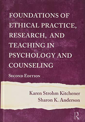 9780415965415: Foundations of Ethical Practice, Research, and Teaching in Psychology and Counseling