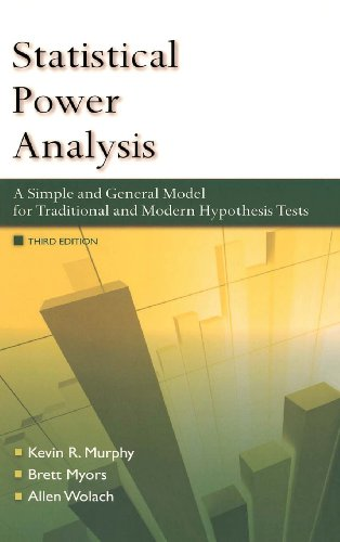 9780415965552: Statistical Power Analysis: A Simple and General Model for Traditional and Modern Hypothesis Tests, Third Edition