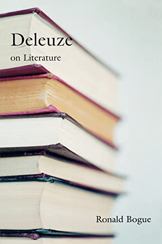 9780415966061: Deleuze on Literature (Deleuze and the Arts)