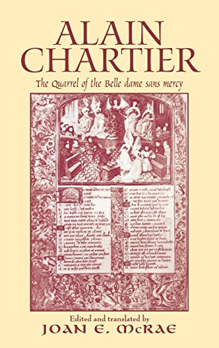 9780415966115: Alain Chartier: The Quarrel of the Belle Dame Sans Mercy (Routledge Medieval Texts)