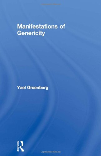 9780415967778: Manifestations of Genericity (Outstanding Dissertations in Linguistics)