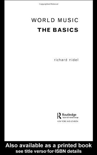 World Music: The Basics: Nidel, Richard O