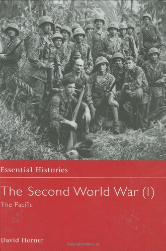 The Second World War, Vol. 1: The Pacific: Horner,David