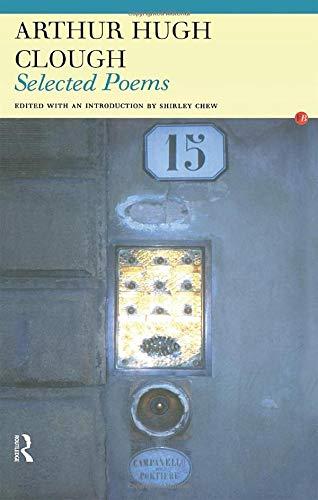 9780415969376: Arthur Hugh Clough: Selected Poems (Fyfield Books)