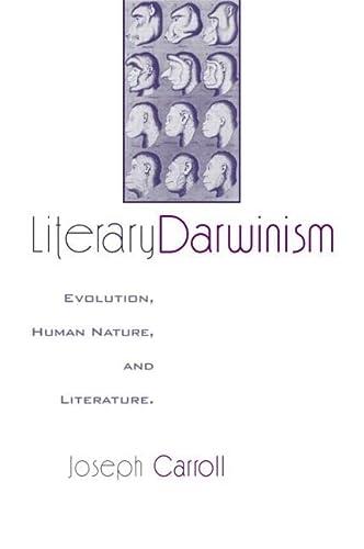 9780415970143: Literary Darwinism: Evolution, Human Nature, and Literature