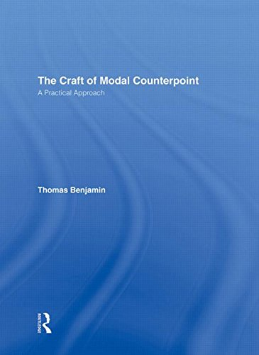 9780415971713: The Craft of Modal Counterpoint