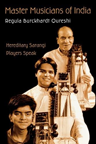 Master Musicians of India: Hereditary Sarangi Players: Qureshi, Regula Burckhardt