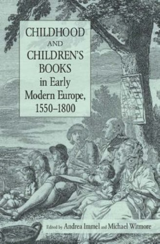9780415972581: Childhood and Children's Books in Early Modern Europe, 1550-1800 (Children's Literature and Culture (Hardcover))