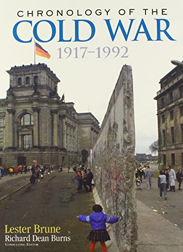 9780415973397: Chronology of the Cold War: 1917–1992