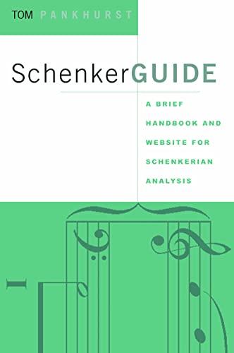 9780415973984: Schenker Guide: A Brief Handbook and Website for Schenkerian Analysis