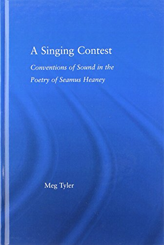 9780415975391: A Singing Contest: Conventions of Sound in the Poetry of Seamus Heaney