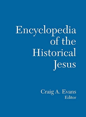 The Routledge Encyclopedia of the Historical Jesus: Routledge