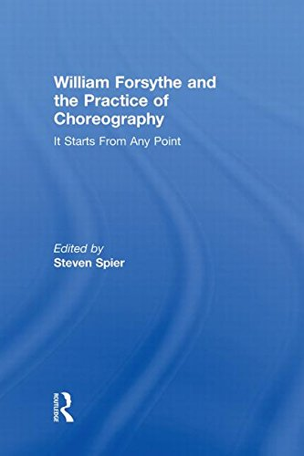 9780415978224: William Forsythe and the Practice of Choreography: It Starts From Any Point