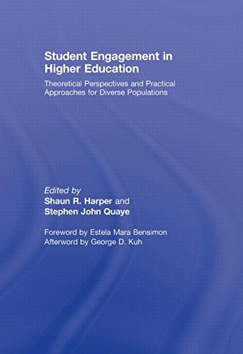 Student Engagement in Higher Education: Theoretical Perspectives and Practical Approaches for ...