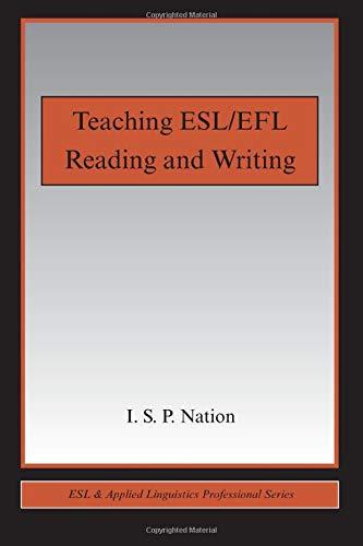 9780415989688: Teaching ESL/EFL Reading and Writing (ESL & Applied Linguistics Professional Series)